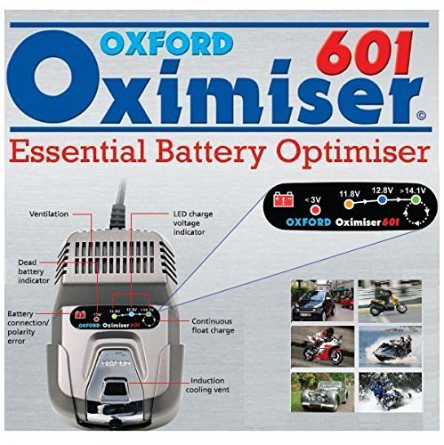 OXFORD OXIMISER 601 NEW FOR 2012 BATTERY CHARGER / OPTIMISER from OXFORD OXIMISER 600