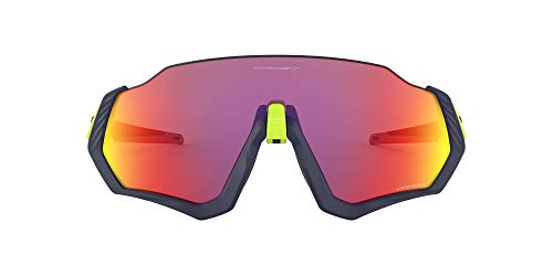 Oakley FLIGHT JACKET OO 9401 MATTE NAVY/PRIZM ROAD men Sunglasses from Oakley