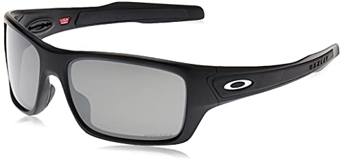 e0d0c5aa2 Ray-Ban Men's Turbine 926345 Sunglasses, Matte Black/Prizmjadepolarized, 63  from Ray