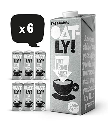 Oatly Oat Drink Barista edition 1 Litre (Pack of 6) from OATLY