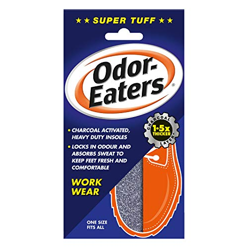 Odor-Eaters Supertuff, Odour-Destroying, Heavy duty insoles, for work wear from Odor-Eaters