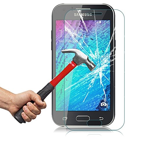 OhMyGosh - Samsung Galaxy J3 (2016) Explosion Shock Proof Genuine Tempered Glass Film Screen Protector (OMG05) from OhMyGosh®