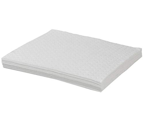 (Pack of 10) Premium Oil Absorbent Pads / Mats (Oil / Fuel Only) from Oil Absorbent Mats