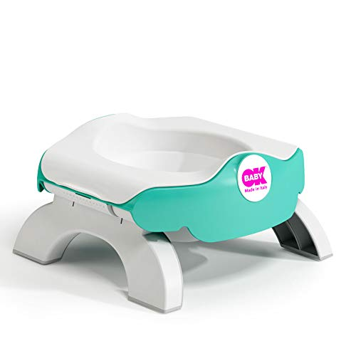 OKBaby Roady 3-in-1 Potty, Travel Potty and Toilet Training Seat, Aqua from OKBABY