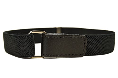 Baby/Childrens 0-2 Years fully adjustable Stretch Belt with Hook and Loop Fastening - Black from Olata