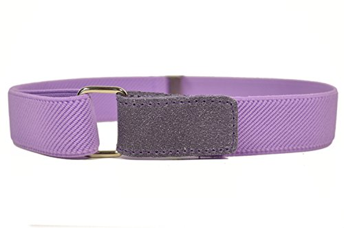 Childrens 1-6 Years fully adjustable Stretch Belt with Hook and Loop Fastening - Lilac from Olata