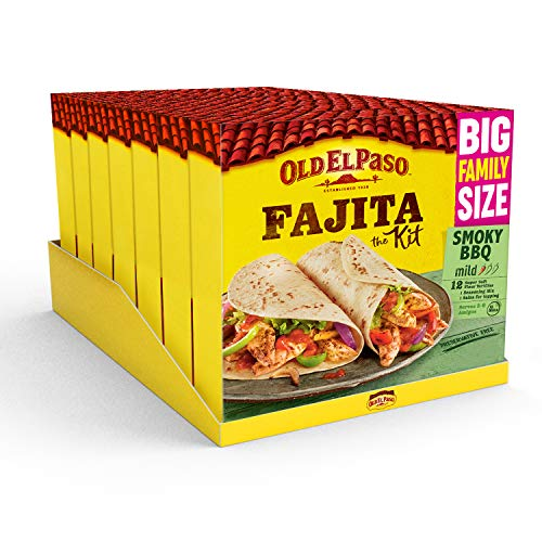 Old El Paso Smoky BBQ Family Fajita Kit 750g (Pack of 7) from Old El Paso