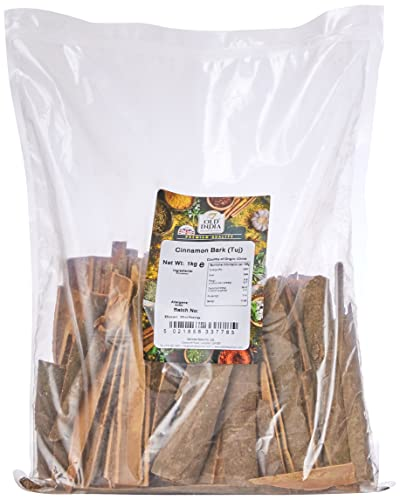 Old India Cinnamon Bark (Tuj) 1 Kg from Old India