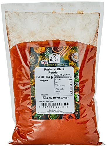 Old India Kashmiri Chilli Powder 1 Kg from Old India