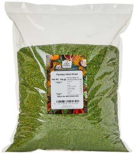 Old India Parsley Herb Dried 1 Kg from Old India