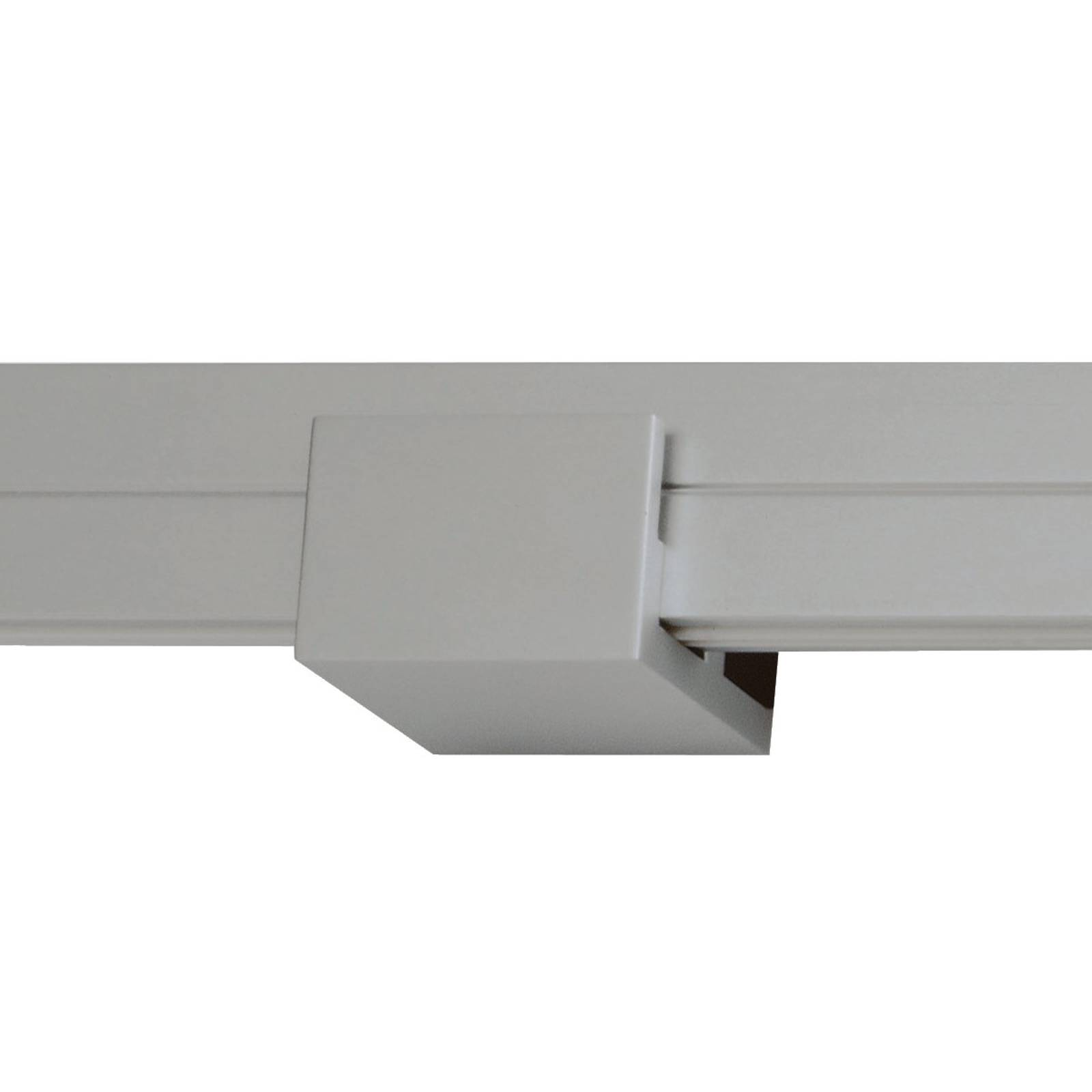 Wall support for track lighting system Check-In from Oligo