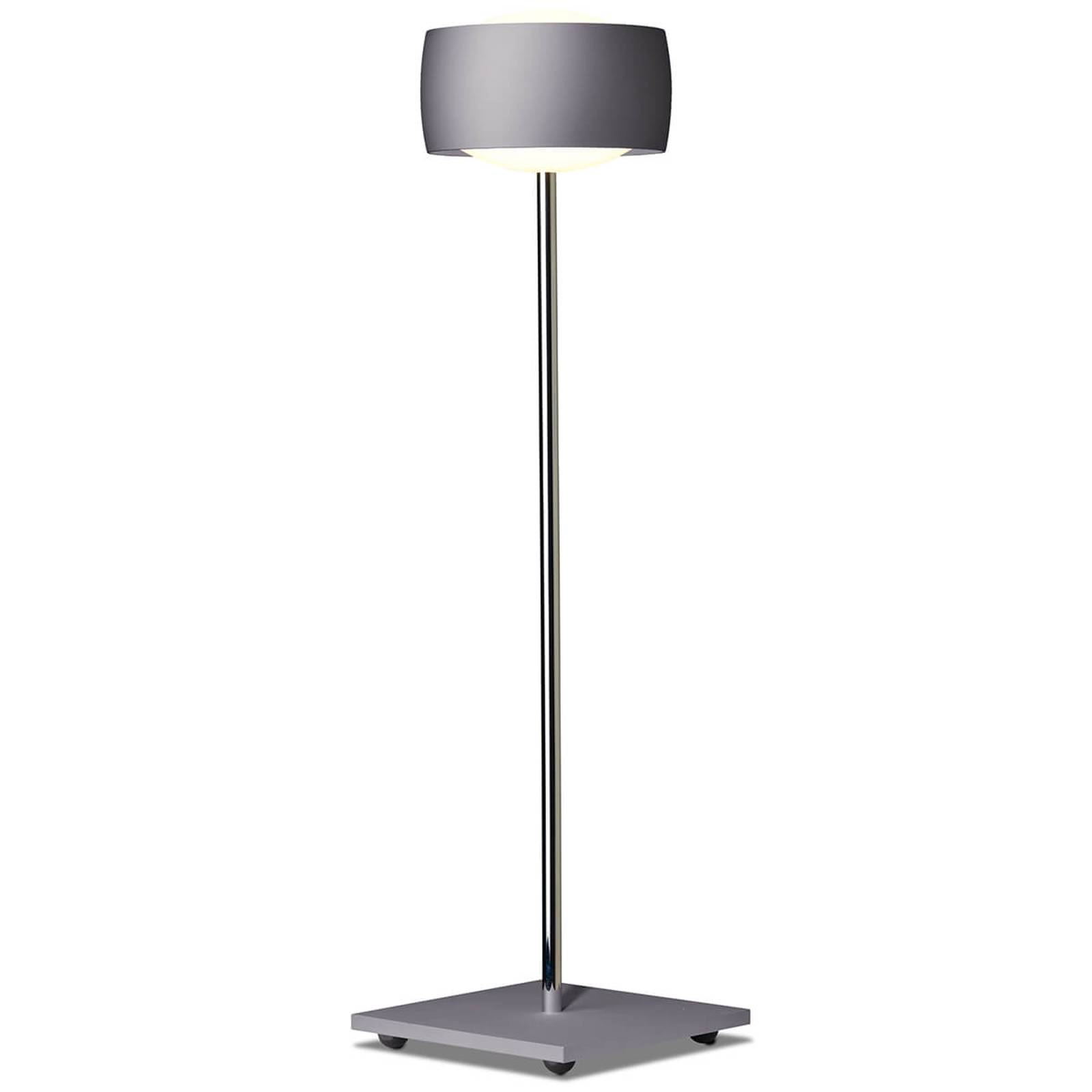 With gesture control - LED table lamp Grace, grey from Oligo