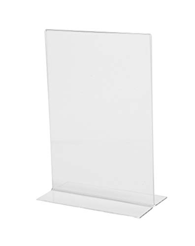 Menu Holder Upright A5 Leaflet Stands Board Restaurant Commercial 215X150X70mm from Olympia