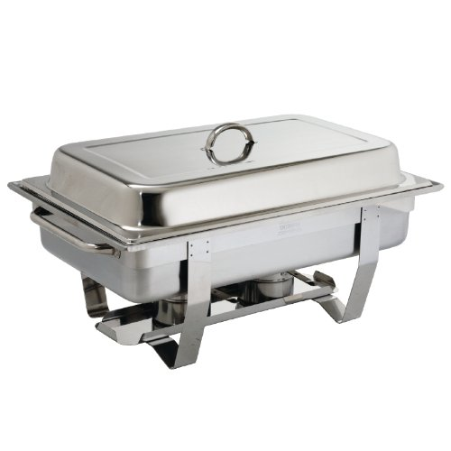Olympia K409 Milan Chafing Dish, 1/1 Stainless Steel Chafer from Olympia
