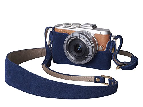 Olympus Camera Outfit (Case and Suede Shoulder Strap) from Olympus