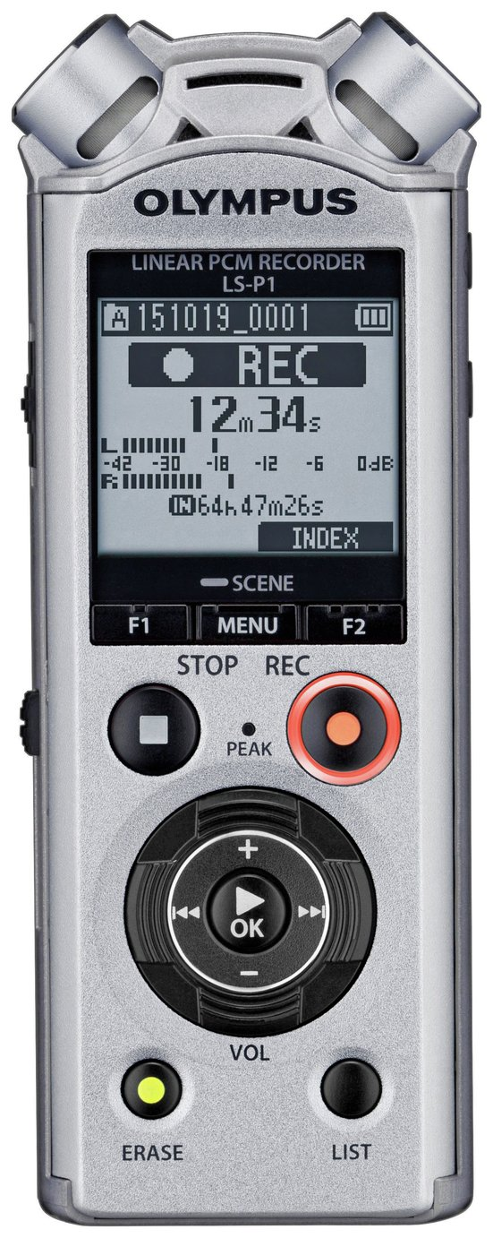 Olympus LS-P1 4GB Pocket Dictation Machine from Olympus