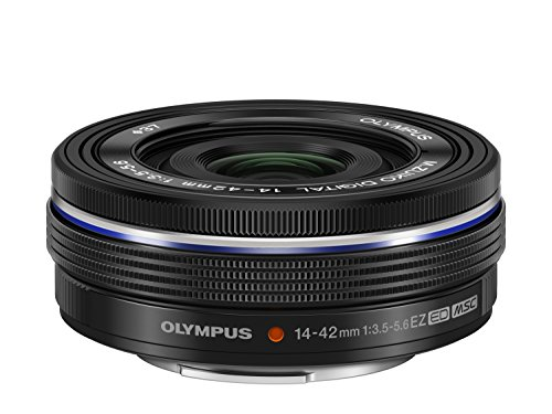 Olympus M.ZUIKO DIGITAL ED 14-42mm 1:3.5-5.6 EZ Lens - Black from Olympus