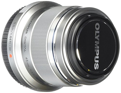 Olympus M.ZUIKO Digital ED 45mm F1.8 Lens for E Series DSLR Cameras from Olympus