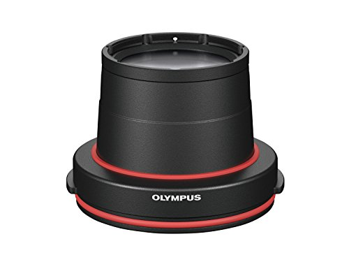 Olympus PPO‑EP03 Underwater Lens Port - Black from Olympus