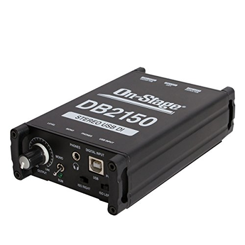 On-Stage DB2150 Stereo USB DI Box from OnStage