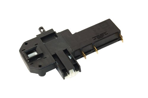 Bosch Homark Siemens Washing Machine Door Interlock Switch. Equivalent to part number 069589 from Onapplianceparts