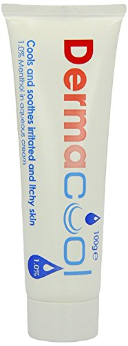 Dermacool One Percent Menthol Aqueous Cream Tube, 100 g (Pack of 2) from One Dermacool