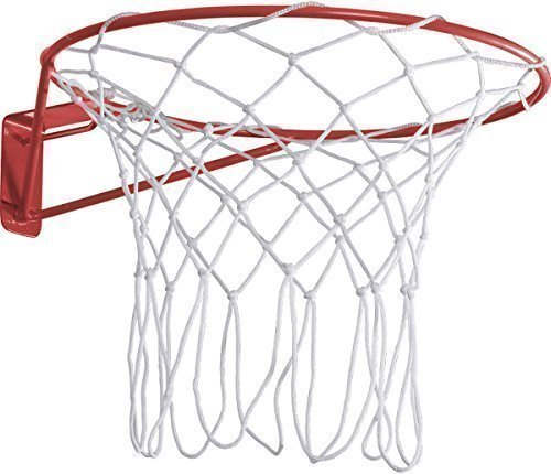 Kids Outdoor Sports Regulation Size 15mm Steel Tube Netball Ring & Nylon Net from Only Sports Gear