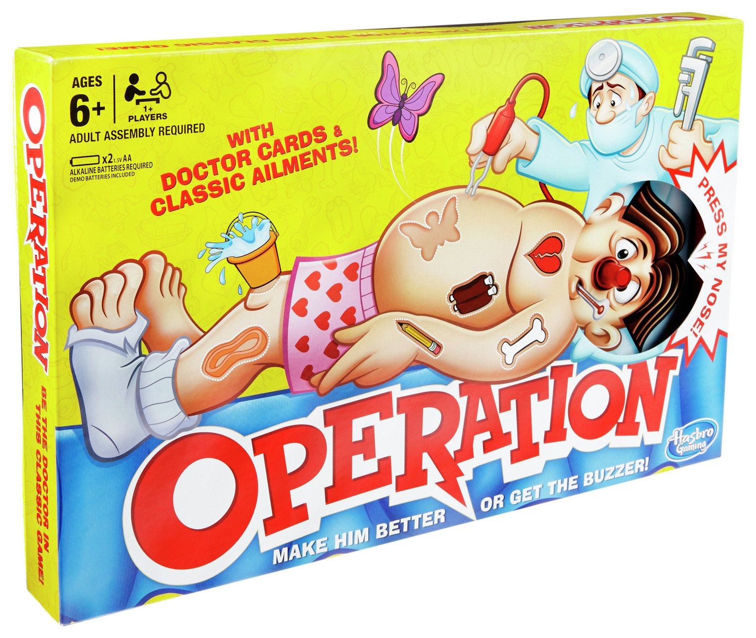 Operation Board Game from Hasbro Gaming from Operation
