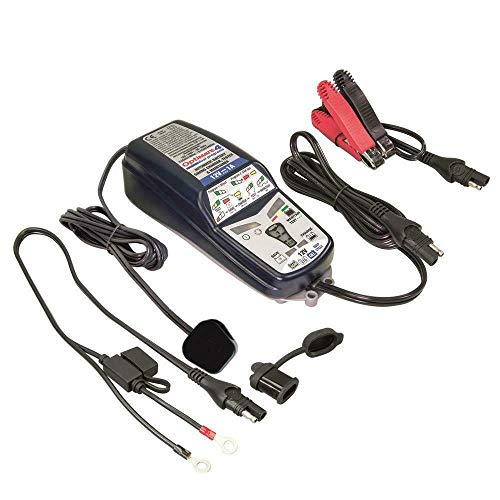 OptiMate 4 Dual Program 12V Motorcycle Automatic Battery Charger Optimiser from OptiMate