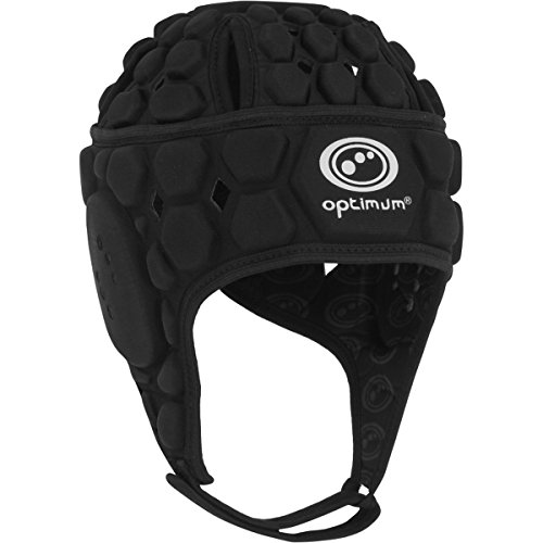 Optimum Boy Atomik Head Guard, Black, Small Boys from Optimum