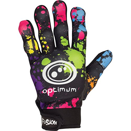 Optimum Fusion Hockey Men's Gloves - Multi-coloured/Small from Optimum