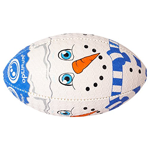 Optimum  Christmas Snowman Rugby Ball - Multi-coloured, Midi from Optimum