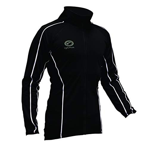 Optimum Men's Cycling Winter Jacket - Black, Small from Optimum