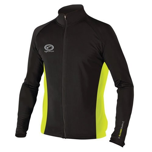 Optimum Men's Nitebrite Winter Roubaix Jacket - Black, Large from Optimum