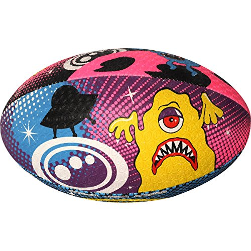 Optimum RUGBY BALL - SPACE MONSTERS - SIZE 3 from Optimum