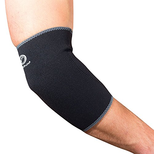 Optimum Unisex Neoprene Elbow Support, Black, Small from Optimum