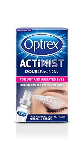 Optrex 2-in-1 ActiMist Dry and Tired Eye Drops Spray, 10 ml from Optrex