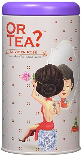 Or Tea La Vie En Rose Tin Canister from Or Tea