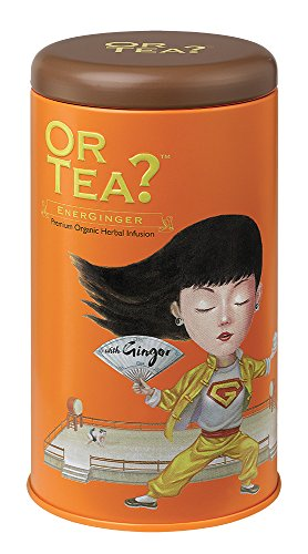 Or Tea Organic EnerGinger Tin Canister from Or Tea