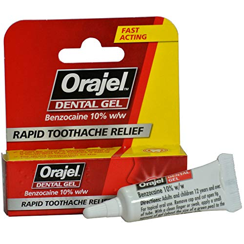 Orajel - Dental Gel (5 x Dental Gels) from Orajel