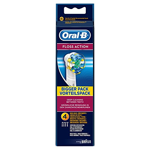 Oral-B Oral-B Floss Action 4 Replacement Brush Heads, 4 each from Oral
