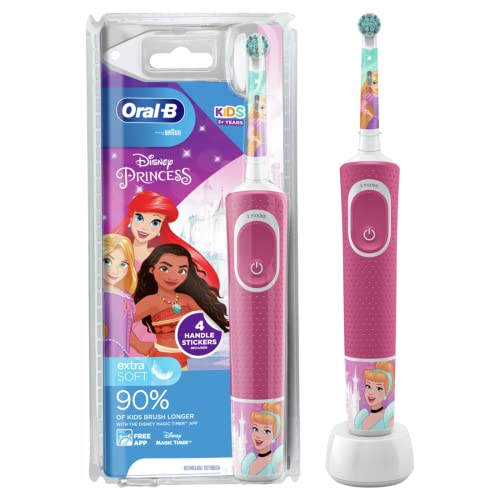Oral-B Stages Power Kids Electric Toothbrush, Disney Princesses from Oral-B