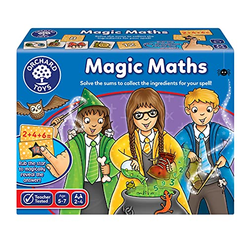 Orchard Toys Magic Maths Game from Orchard Toys