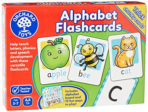 Orchard Toys Alphabet Flashcards from Orchard Toys