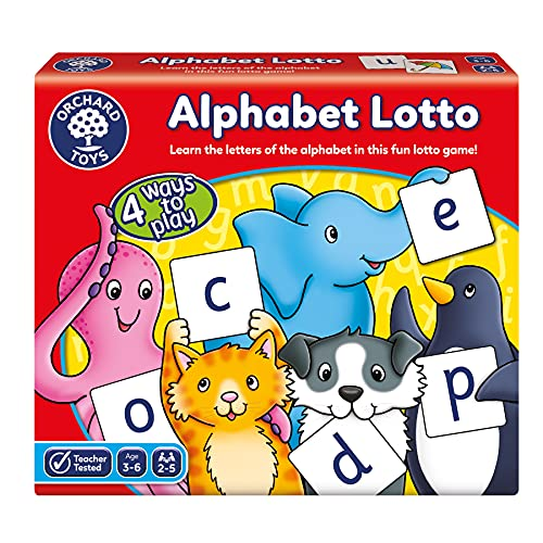 Orchard Toys Alphabet Lotto Game from Orchard Toys