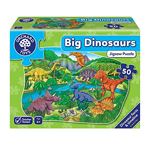 Orchard Toys Big Dinosaurs  Floor Puzzle from Orchard Toys