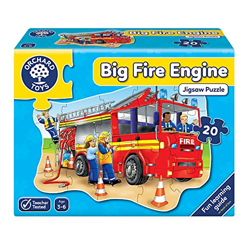 Orchard Toys Big Fire Engine Floor Puzzle from Orchard Toys