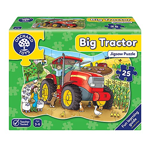Orchard Toys Big Tractor Floor Puzzle from Orchard Toys