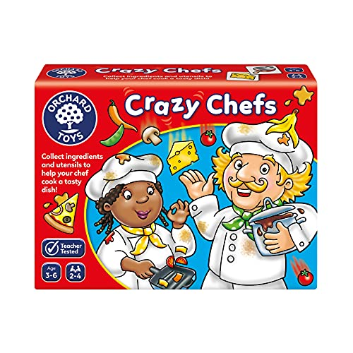 Orchard Toys Crazy Chefs Game from Orchard Toys