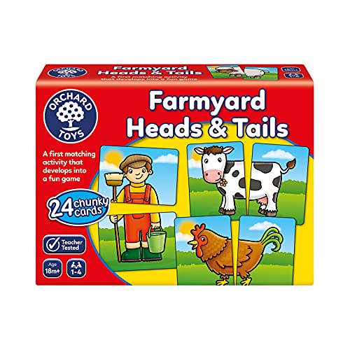 Orchard Toys Farmyard Heads and Tails Game from Orchard Toys